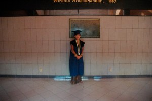 The Graduation on Unawe Indonesia